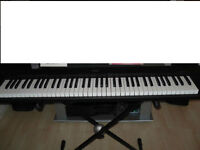 Yamaha piano NP-30 + Stand + adapter(76 keys)