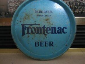 ** FRONTENAC BEER TRAY ** Cornwall Ontario image 1