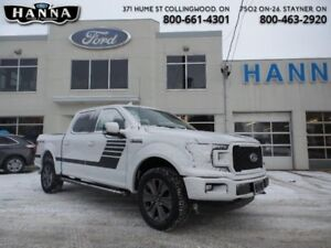 2018 Ford F-150 XLT  Super Crew *302A* Special Edition