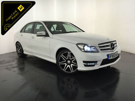 2013 MERCEDES C220 AMG SPORT CDI 1 OWNER SERVICE HISTORY FINANCE PX WELCOME