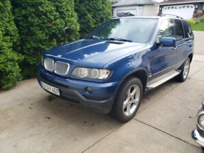 2001 BMW X5 w/ Manual Transmission