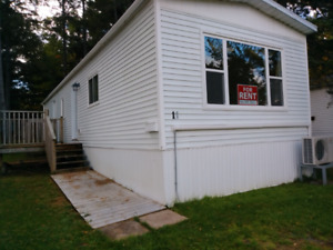 1 bedroom plus office and outdoor storage shed