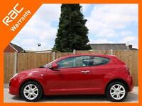 2011 Alfa Romeo Mito 1.4i 16v 95 BHP Sprint 3 Door 6 Speed Bluetooth Air Conditi