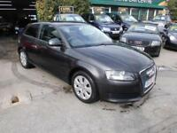Audi A3 1.6 2008 3DR SPORTS HATCH IN BLACK, EXCELLENT