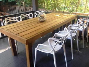 Locally Hand Made Outdoor Tables