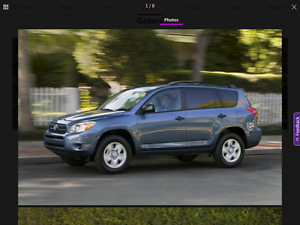 VERY NICE TOYOTA RAV4, VERY LOW KILOMETRES, NEW MVI, GORGEOUS