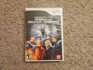 "Fantastic Four - ""Rise of the Silver Surfer"" Wii  / Wii U"