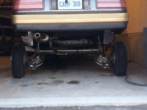 1987 Pontiac Grand Am 2.5 Coupe (2 door) LOWRIDER