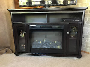$400 Fireplace TV Stand