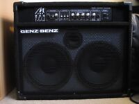 GENZ BENZ BASS AMP 2X10 1x15 can split