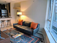 Yaletown Vancouver Furnished Condo Rental at Firenze Tower