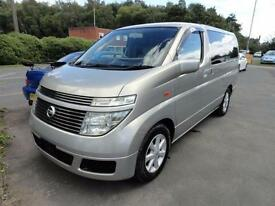 2003 Nissan Elgrand 3500 4WD LUXURY MPV FRESH IMPORT 5dr