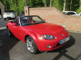 2005 (55) MAZDA MX-5 2.0 LAUNCH EDITION + JUST 45,000 MILES + MOT UNTIL JUNE 19