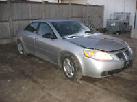 2007 PONTIAC G6 FOR PARTS AT PIC N SAVE WOODSTOCK!!!!!