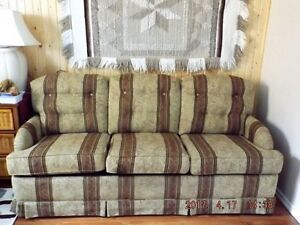 SOFA BED THREE CUSHION DOUBLE SIZE FOR SALE