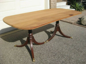 "1"" Thick Old Growth Solid Mahogany Wood Table Top / Planks"