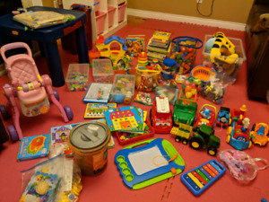 Toys age 0 to 3 worth of $300 for only $30
