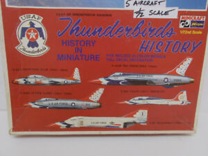 Model Kit - Hasegawa USAF THUNDERBIRDS HISTORY