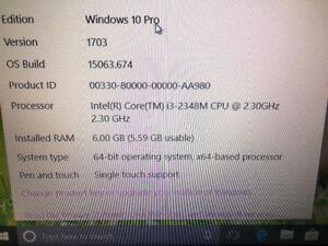 15' Lenovo Laptop Good Condition