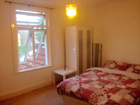 Large double room for let. All bills included. Clean house share