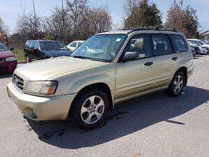 2003 Subaru Forester AWD * SUNROOF, Leather, Power Opts, AC *