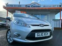 2010 Ford Fiesta ZETEC used cars Rochdale, Greater Manchester Hatchback Petrol M