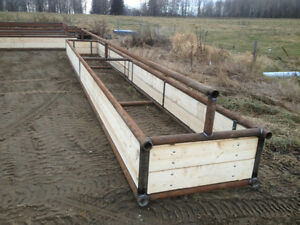 Bunk feeders / shelters