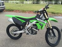 2011 KXF250 excellent condition