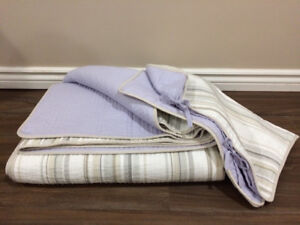 Queen Bedding - 3 coverlet sets (with matching shams)