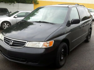 2003 HONDA ODYSSEY EX-L 237041 FULLY LOADED LEATHER HEATED SEATS