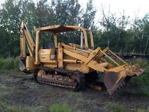 CATERPILLAR 931 CRAWLER LOADER C/W BACKHOE ATTACHMENT