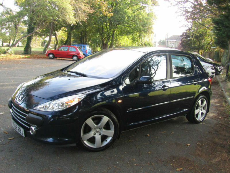 Peugeot 307 1.6HDi Sport**Immaculate**FSH + CAMBELT CHANGE**65MPG**LEATHER**