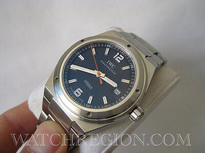 IWC INGENIEUR SHERPA FUND LIMITED EDITION WATCH ONLY 200 MADE BOX&PAPER SERVICED