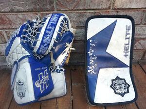 Hockey Goalie equipment, pads, skates, blocker & trapper Windsor Region Ontario image 4