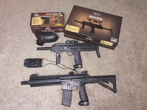 BT TM7 and TM15 paintball bundle