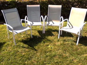 Lawn  Chairs - Garden Chairs - Aluminum Steel mix