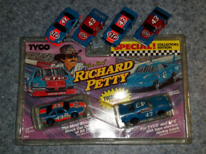 RICHARD PETTY #43 HO SLOT CAR COLLECTION TYCO MODEL TRACK RACING