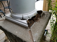 Column repair and restoration.