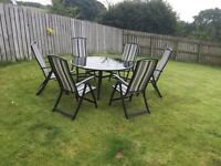 Patio table and chairs REDUCED