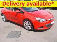 2014 Vauxhall Astra GTC SRi 1.4 Turbo DAMAGED REPAIRABLE SALVAGE