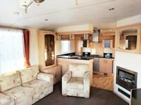 Luxury 2 bedroom 8 berth static caravan for sale in Kent near Camber Dymchurch