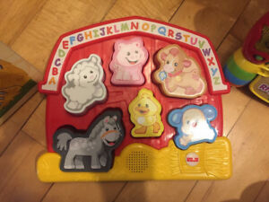 FisherPrice Laugh and Learn Farm Animal Puzzle