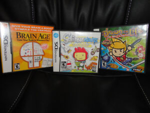 Nintendo DS Games - 3 for $12