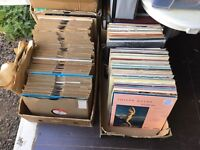 Two Boxes of Records