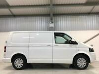VW VOLKSWAGEN TRANSPORTER 2.0TDi SWB SAT NAV AIR CON LIKE VW HISTORY HIGHLINE