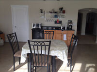 Minutes to C-train, 2 Bedroom Basement unit fully furnished
