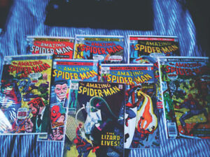Old Amazing Spiderman Comics in Excellent Condition