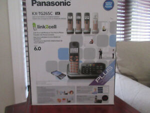 Panasonic - 5 phones and answering machine Brand new, still in a