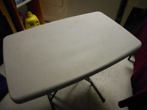 MOVING SALE - Small Event Plastic Table