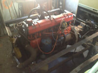 Black Diamond 264cid engine/trans